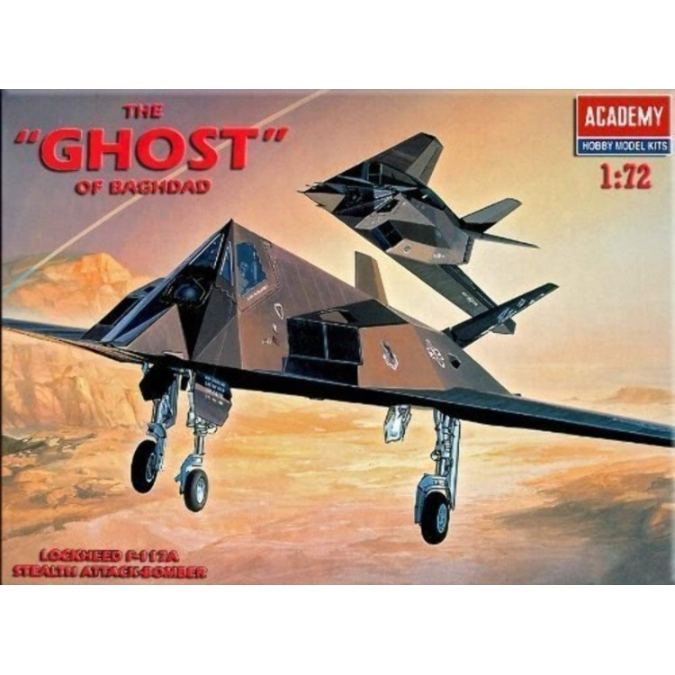 Academy 1:72 F-117A Stealth 'The Ghost Of Bagdad'