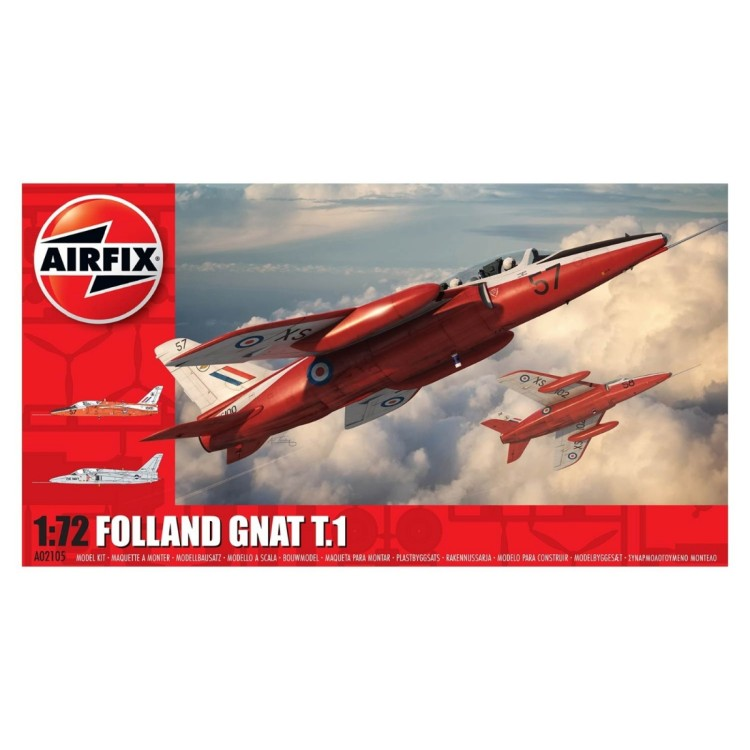 Airfix 1:72 Folland Gnat T.1