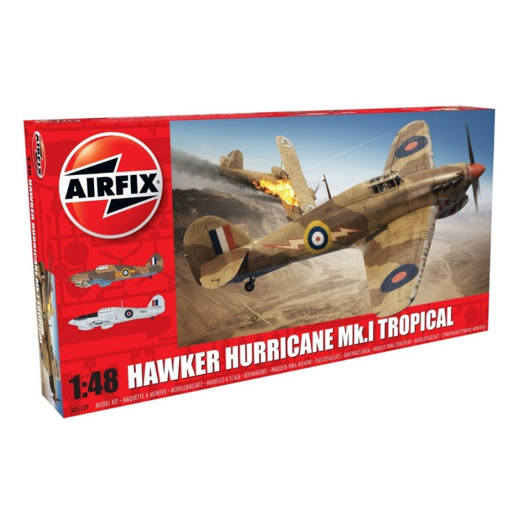 Airfix 1:48 Hawker Hurricane Mk.I Tropical