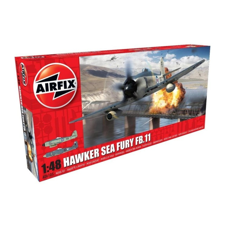 Airfix 1:72 Hawker Sea Fury FB.11