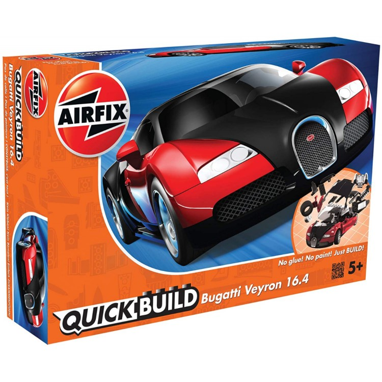 Airfix Quickbuild Bugatti Veyron (Red)