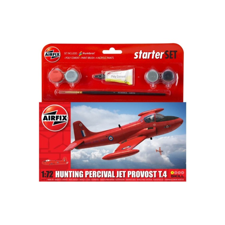 Airfix Starter Set Hunting Percival Jet Provost T4