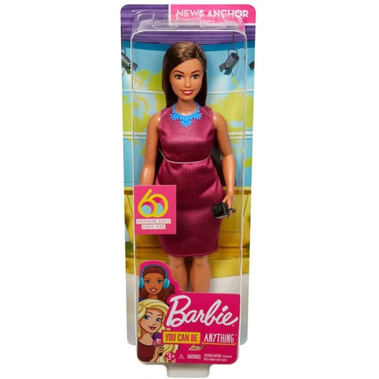 Barbie Career News Anchor Doll