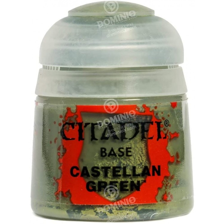 Citadel Base Paint Castellan Green 12ml