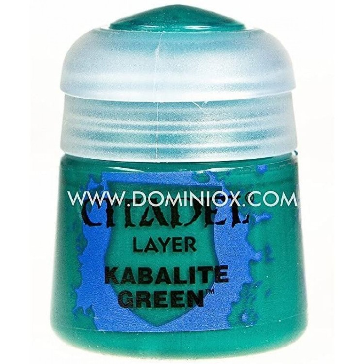 Citadel Layer Paint Kabalite Green 12ml
