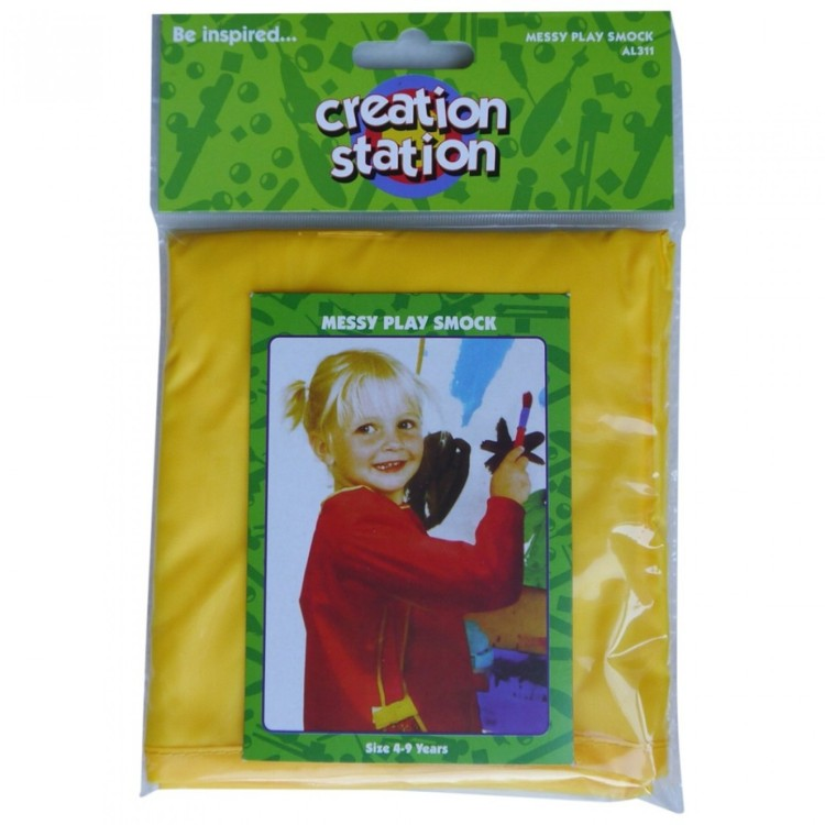 Creation Station Messy Play Smock