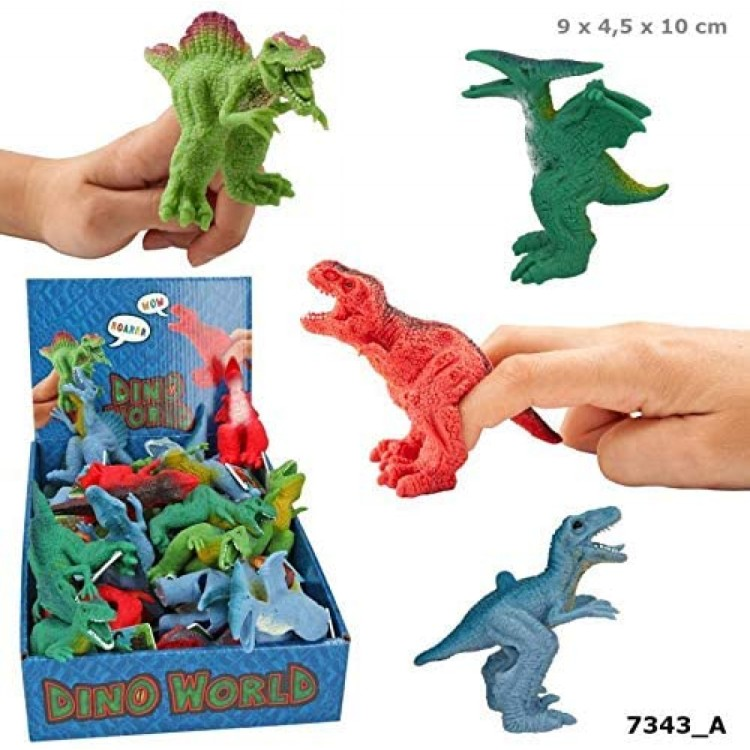 Dino World Finger Puppet