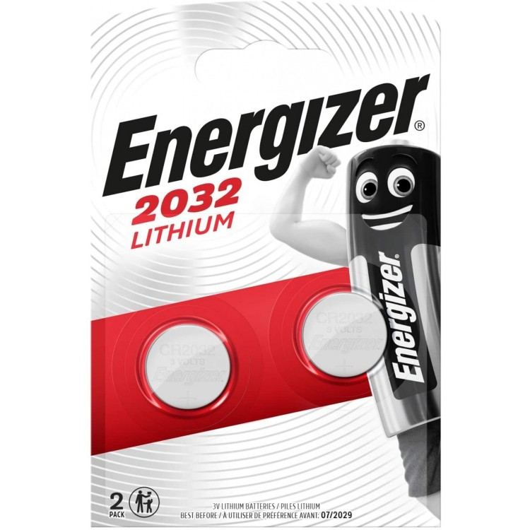 Energizer 2032 Lithium 3V Battery 2 Pack