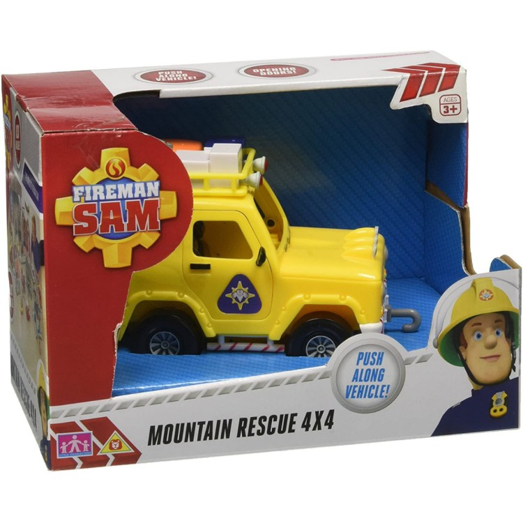 Fireman Sam Vehicle Moutain Rescue 4x4
