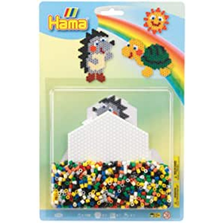 Hama Hedgehog & Tortoise Large Bead Kit